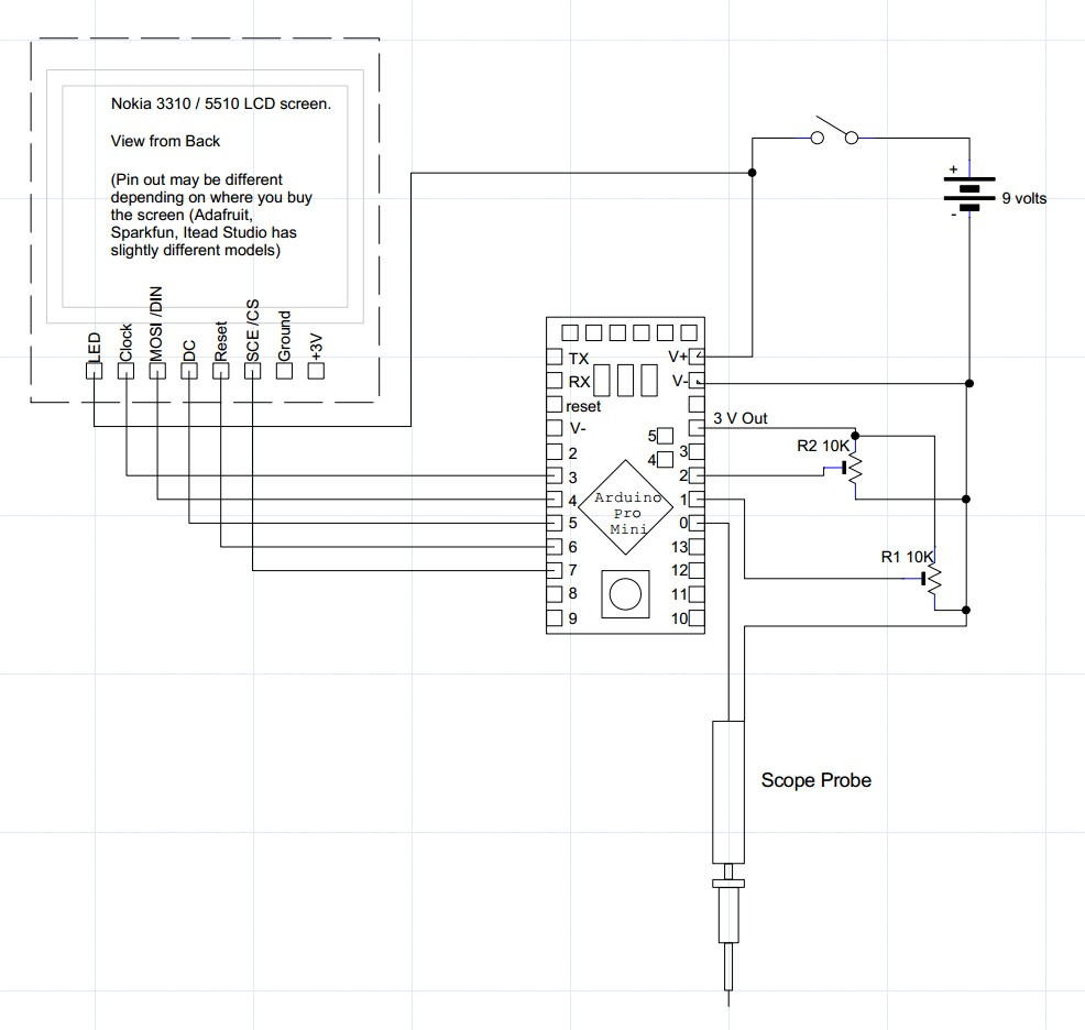 Circuit Diagram Nokia 3310 Wiring Library Sony Ericsson J200 Mobile Phone Layout Troubleshooting Diagrams Diy Arduino Oscilloscope With The Glcd Screen Filearcom Image 6300 Solution Cell