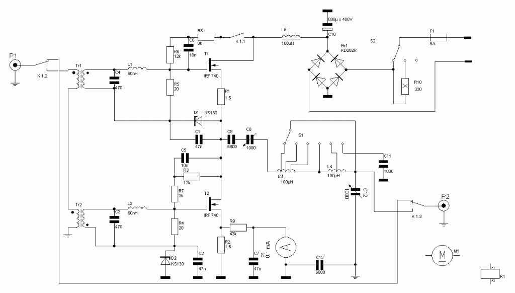 MOSFET + TL431 = компенсационный стабилизатор напряжения ...